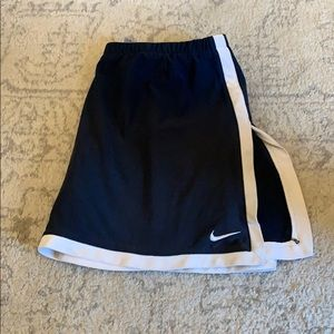 Navy Nike tennis skirt